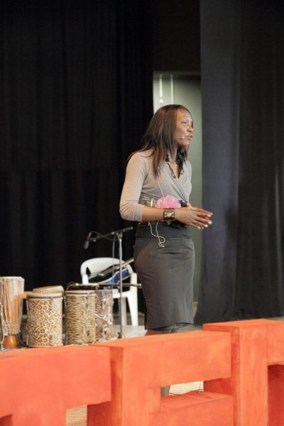 Susan Mashibe at TEDxDar