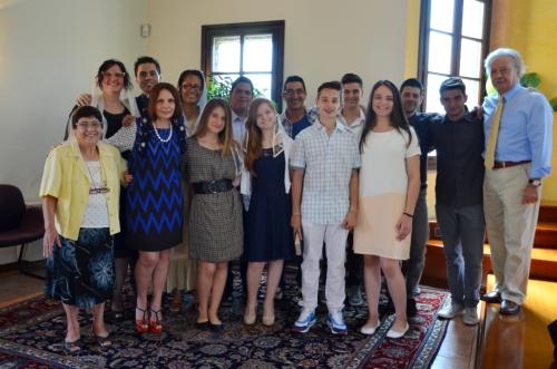 Il gruppo in chiesa