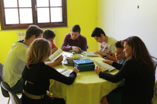 Classe degli adolescenti 2014-15