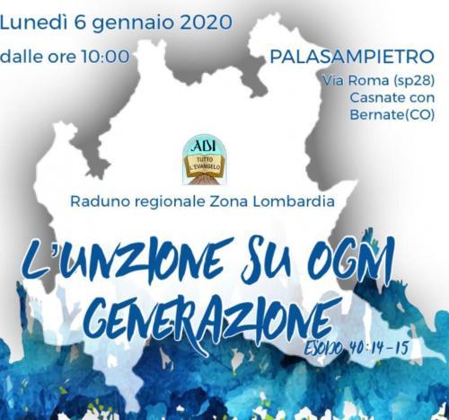 raduno campistico giovanile 6 gennaio 2020