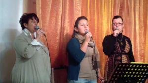 Voci: Roberta, Sheila e Michela