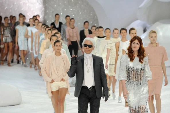 Karl Lagerfeld + + + Chanel Runway