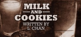 """""""Milk and Cookies"""" by L. Chan 