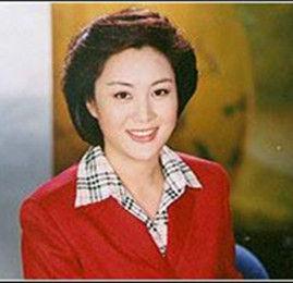 张越的二婚妻子孟莉(网络图片)