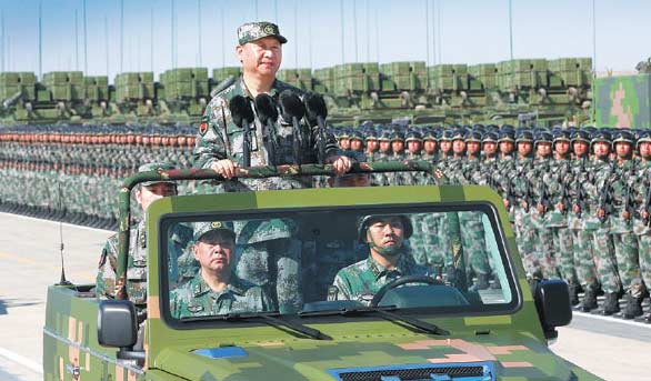 PLA determined to safeguard period of strategic opportunity