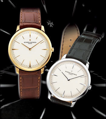 Vacheron Constantin watches, similar to the one worn by China government official Zhou Jiugeng.
