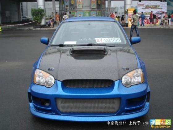 fake-military-vehicle-license-plates-china-07-subaru-impreza-wrx