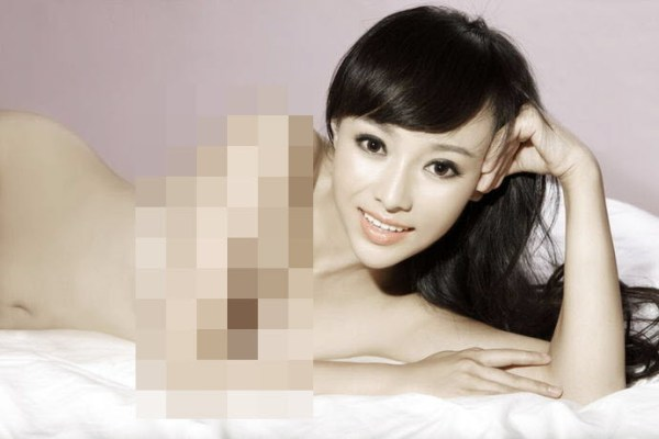 Han Yifei takes nude photographs to honor her promise to Chinese netizens after China's men's national basketball team made the first round of the World Championships.