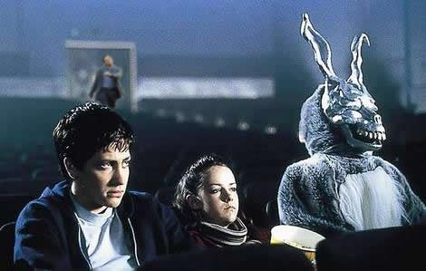 "Leonardo DiCaprio ""strutting"" photoshop: Donnie Darko."