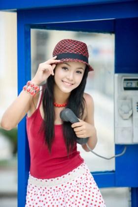Hoang Bao Tran Le, 12-year-old Vietnamese model.