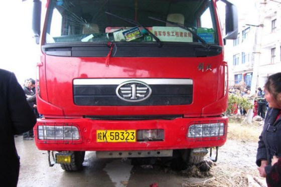Village Petitioner Crushed Under Truck, Netizens Suspicious