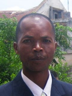 An African-Chinese mixed-race man.