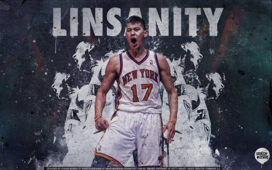 LINSANITY - Jeremy Lin, wallpaper by angelmaker666.deviantart.com