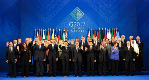 The G20 leader's picture