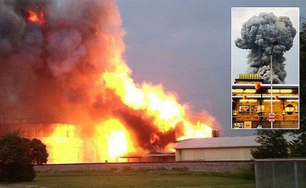 Texas fertilizer plant explosion.