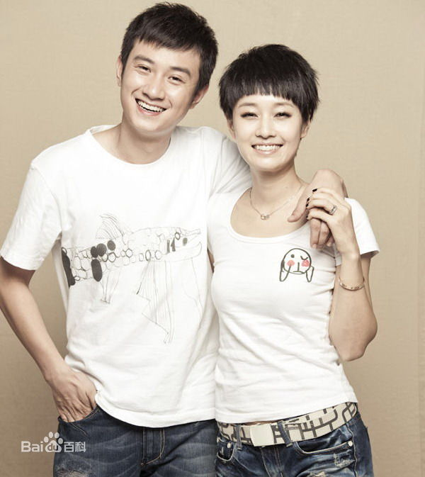 Wen Zhang and wife Ma Yili.