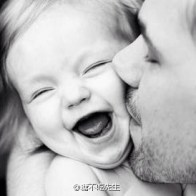 fathers-day-03-dad-kissing-giggling-little-daughter