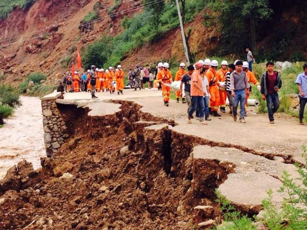 Zhaotong China  city photo : Yunnan Ludian 6.5 Earthquake: Online Coverage and Reactions ...