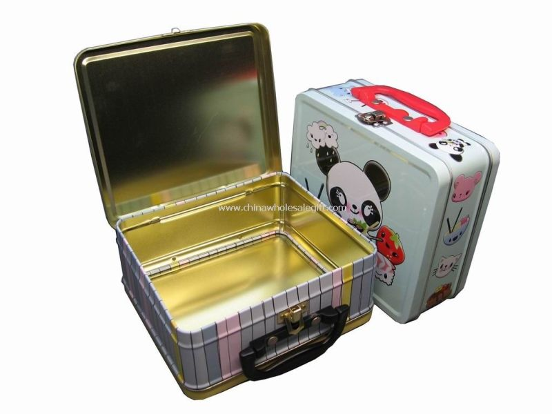 Large Of Metal Lunch Box