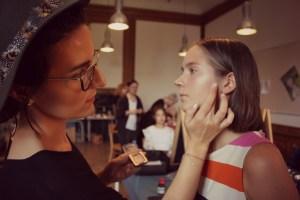 Chi at work - Modeschule Hetzendorf