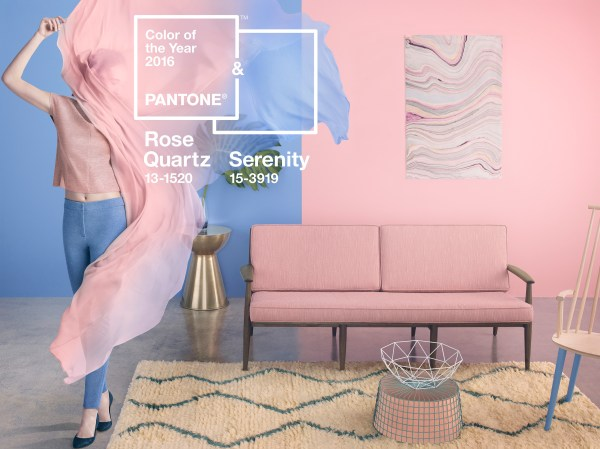 Pantone 2016 Color of the Year Visual