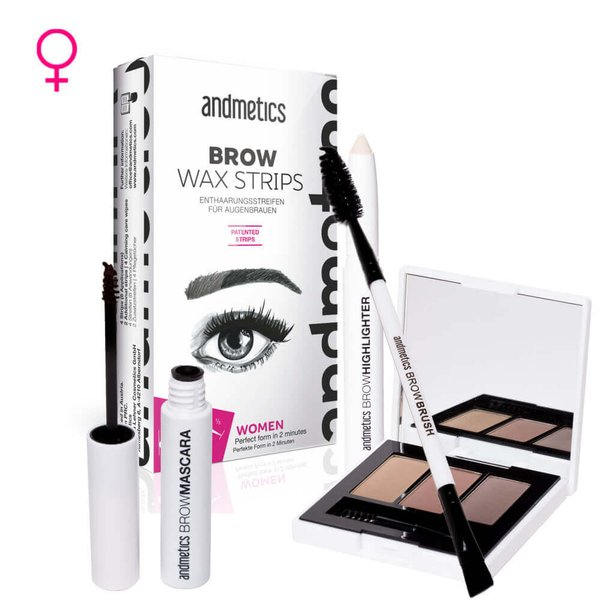 andmetics brow styling kit