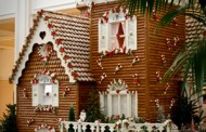 Disney Pic of the Day - Giant Gingerbread House Opens @ Grand Floridian Resort