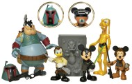 Disney Characters as Star Wars Action Figures
