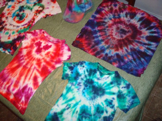 Mickey Mouse tie dye tshirts