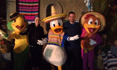 three Caballeros, running, rundisney