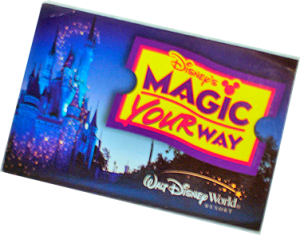 Magic Your Way Ticket
