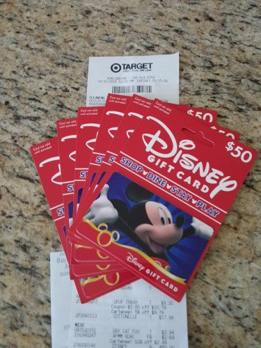 Save 5% on Disney Vacations by using your Target Red Card
