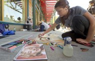 3-D Chalk Art to Downtown Disney for Limited Time Magic