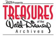 Treasures of The Walt Disney Archives is Open