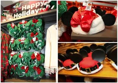 Holiday Headwear at Disney