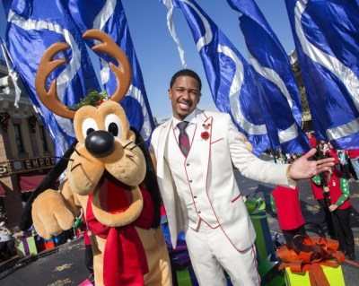 Nick Cannon DLR Christmas day parade