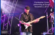 Christopher Cross Featured During Epcot Eat to the Beat Concert Series Wearing MagicBand