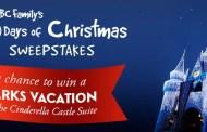 ABC Family 25 Days of Christmas Sweepstakes