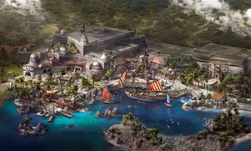 Shanghai Disney Treasure Cove