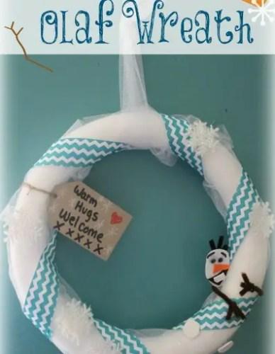 Wreath Olaf