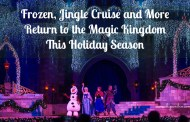 Frozen, Jingle Cruise and More Return to the Magic Kingdom This Holiday Season