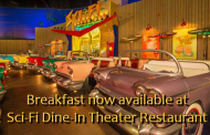 Disney now serving Breakfast at the Sci-Fi Dine-In Theater Restaurant in Walt Disney World
