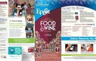 The 20th Epcot International Food & Wine Festival Opens today!