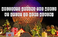 Holidays Around the World At Epcot Is Here Again!