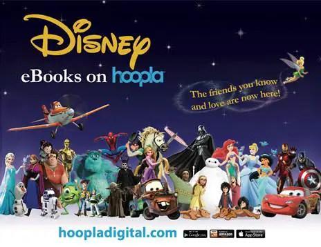 Disney Publishing Teams Up With Hoopla Digital!