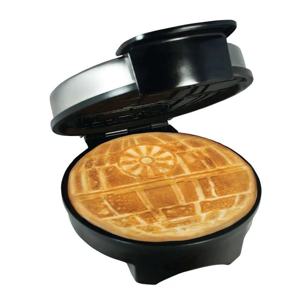 disney find star wars death star waffle maker. Black Bedroom Furniture Sets. Home Design Ideas
