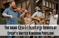 Epcot's United Kingdom Pavilion Welcomes Acoustic Group Quickstep