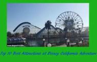 Top 10 Best Attractions at Disney California Adventure