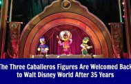 The Three Caballeros Figures Are Welcomed Back to Disney World After 35 Years