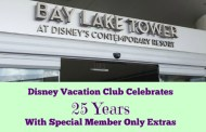 Disney Vacation Club Celebrates 25 Years during 2016 With Special Extras